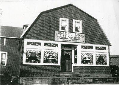 Cliff Carleton General Store, Dunchurch, 1945 - 1955