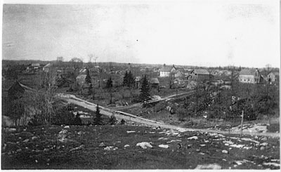 Dunchurch from the Top of the Hill, circa 1912