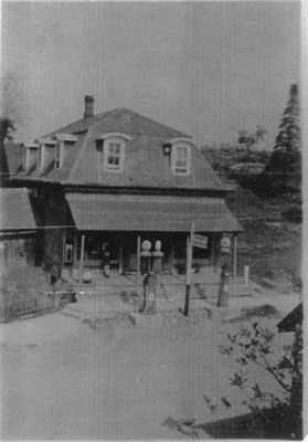 Jack Tait's General Store, Main Street, Dunchurch, circa 1930