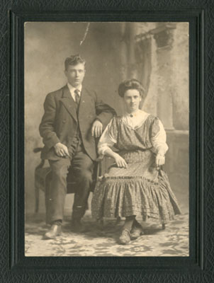 Clara North and Johnny Lloyd, circa 1905