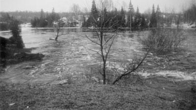 Flooding of the Magnetawan River, 1922