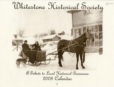 Whitestone Historical Society Calender – 2008