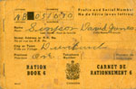David James Simpson's Ration book