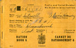 Alvin Harvey Whitmell's Ration Book