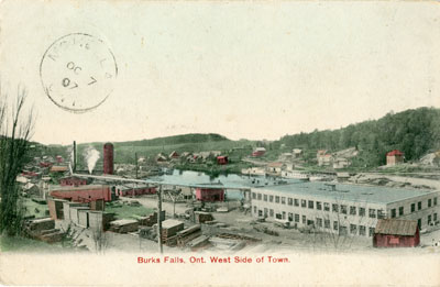 Burk's Falls Ont. West Side of Town