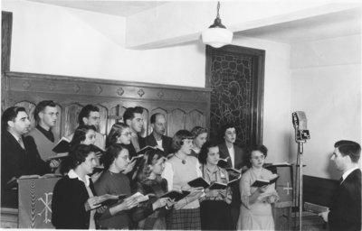 Waterloo College Chapel Choir, 1949-50