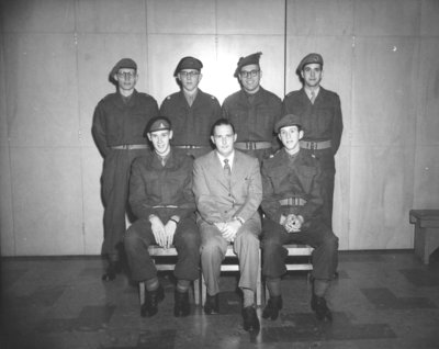 Waterloo College detachment, Canadian Officers' Training Corps, 1953-54