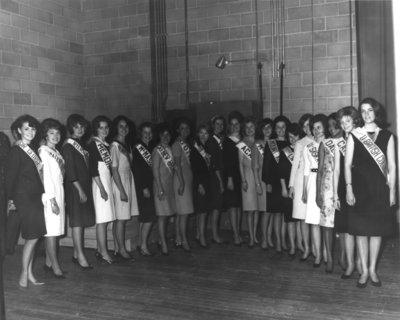 Miss Canadian University Queen 1965 contestants