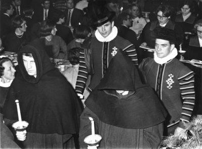 Boar's Head Dinner, Waterloo Lutheran University, 1967