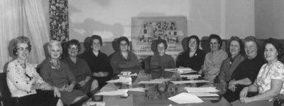 Women's Auxiliary of Waterloo Lutheran University meeting