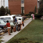 Residence move-in day, Wilfrid Laurier University