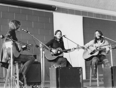 America performing at Waterloo Lutheran University Winter Carnival, 1972
