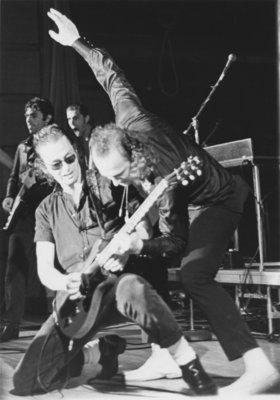 Sha-na-na performing at Waterloo Lutheran University, 1972