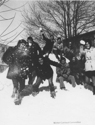 Waterloo College Winter Carnival Committee 1971