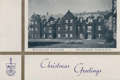 Waterloo College Christmas card