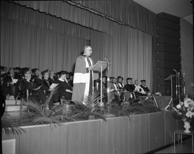 Waterloo Lutheran University spring convocation 1963