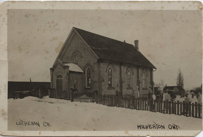 St. Peter's Evangelical Lutheran Church, Milverton, Ontario