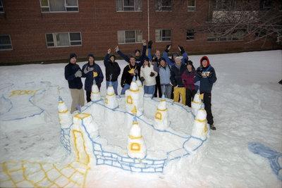 Wilfrid Laurier University winter carnival 2001