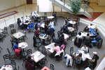 Schlegel Centre interior, Wilfrid Laurier University