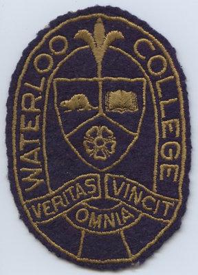 Waterloo College crest