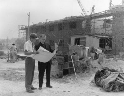 Construction on Waterloo Lutheran University campus