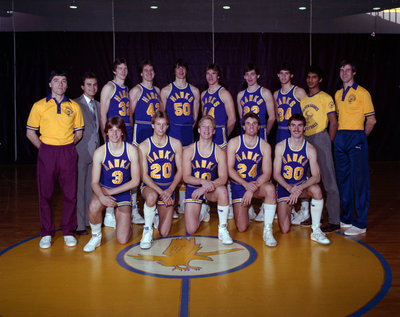 Wilfrid Laurier University men's basketball team, 1983-84