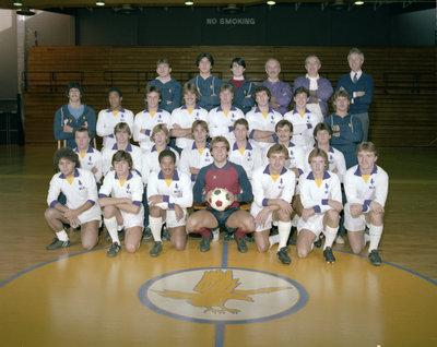 Wilfrid Laurier University men's soccer team, 1983