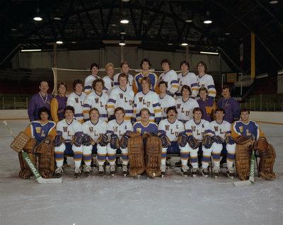Wilfrid Laurier University men's hockey team, 1983-1984