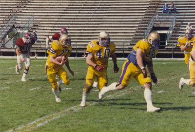 Wilfrid Laurier University football game