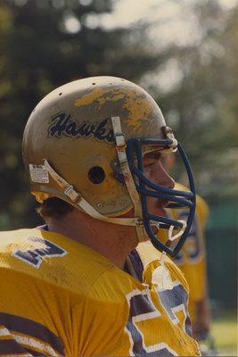 Tim Purdy, Wilfrid Laurier University football player