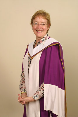 Maude Barlow at Laurier Brantford spring convocation 2004