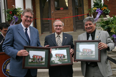 Grand opening of Wilkes House Residence, Laurier Brantford