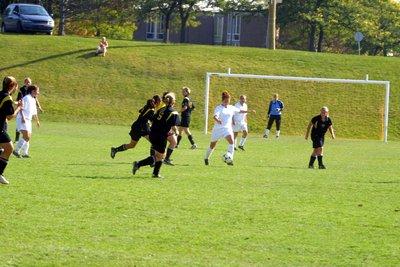 Wilfrid Laurier University women's soccer game