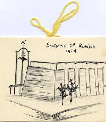 The Seminette's fifth annual reunion program, 1964