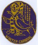 Waterloo Lutheran University Winter Carnival badge
