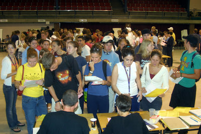 Registration Day 2003, Wilfrid Laurier University