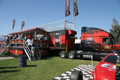 Budweiser Big Rig at Wilfrid Laurier University Homecoming game, 2005