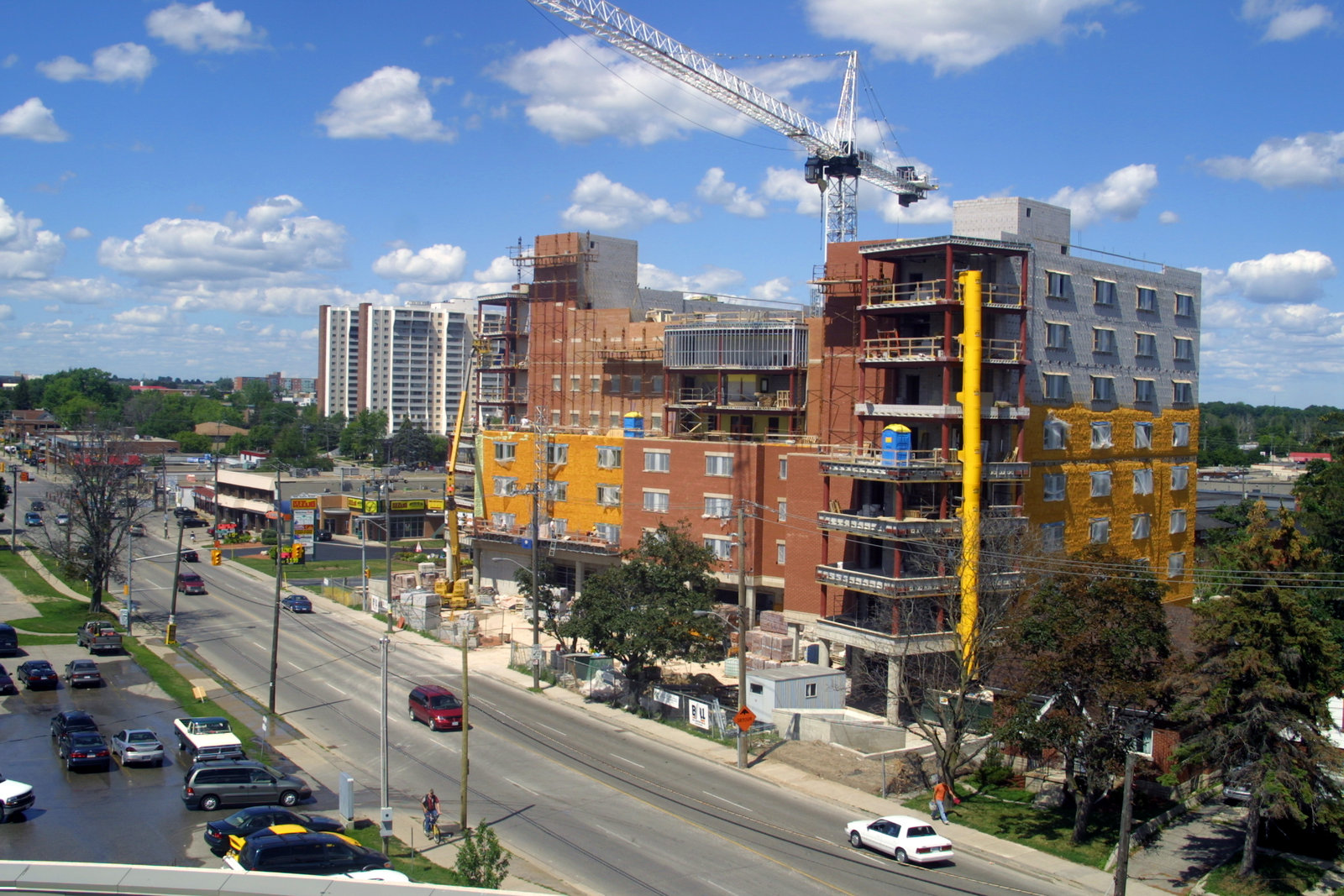 Construction of King Street Residence