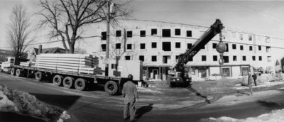 Construction of Bricker Residence, Wilfrid Laurier University