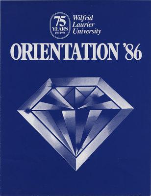 Wilfrid Laurier University Orientation '86