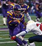 Andy Baechler in 2005 Uteck Bowl game