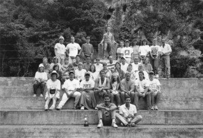 Wilfrid Laurier University geography students in Venezuela
