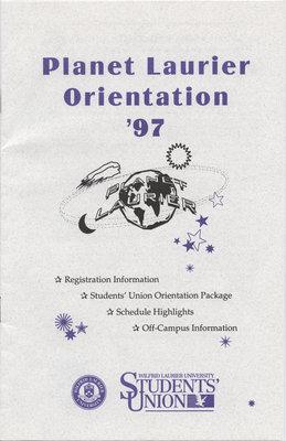 Planet Laurier Orientation '97