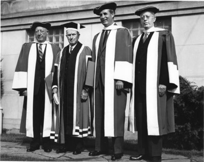 Waterloo Lutheran University spring convocation 1961