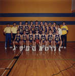 Wilfrid Laurier University men's varsity basketball team, 1987-1988