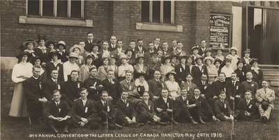 9th annual Luther League of Canada Convention, 1916