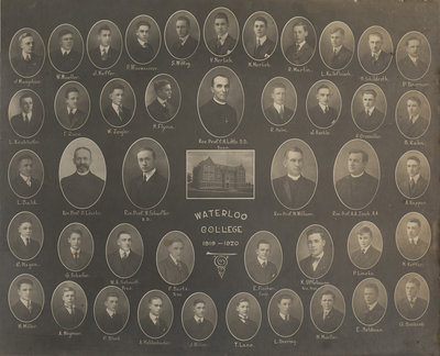 Waterloo College, 1919-1920