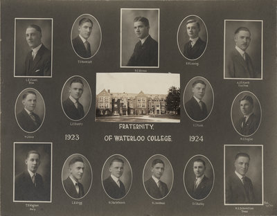 Fraternity of Waterloo College, 1923-1924
