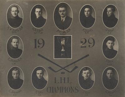 1929 L.H.L Champions