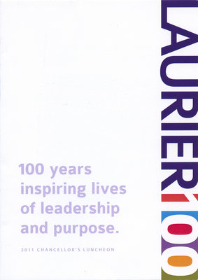 Laurier Brantford convocation invitation, 2011